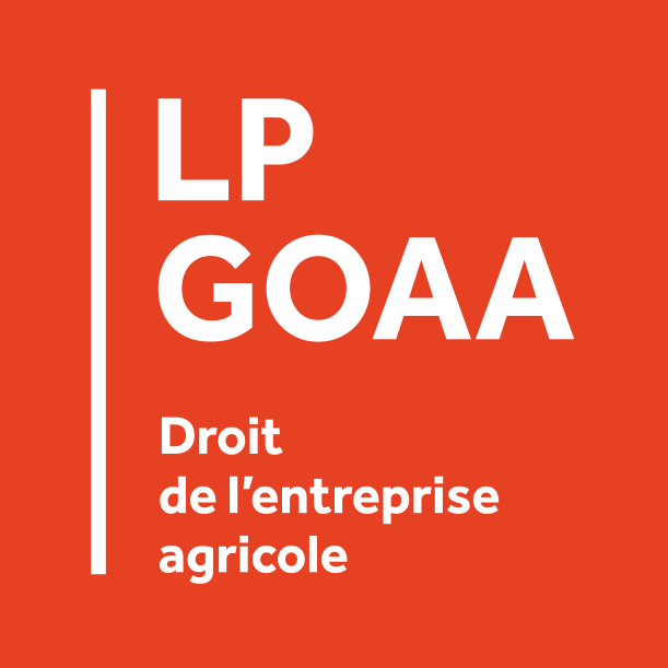 LP GOAA –  Parcours Droit de l'Entreprise Agricole de Laval